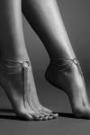 Chaines argentées pour les pieds